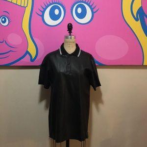 Alexander McQueen McQ Black Leather Men's …